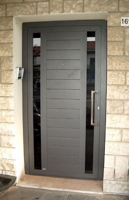 Portoncini in alluminio sch co bisacchi forli cesena - Portoncini ingresso legno alluminio prezzi ...