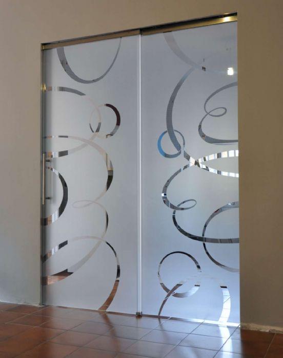 Porte in vetro henry glass a cesena - Porte interne in vetro scorrevoli ...