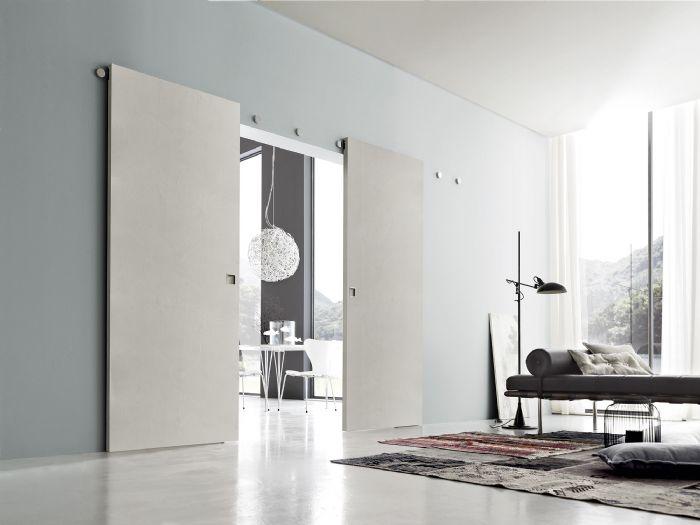 Porte interne di design a cesena - Porta scorrevole esterna ikea ...