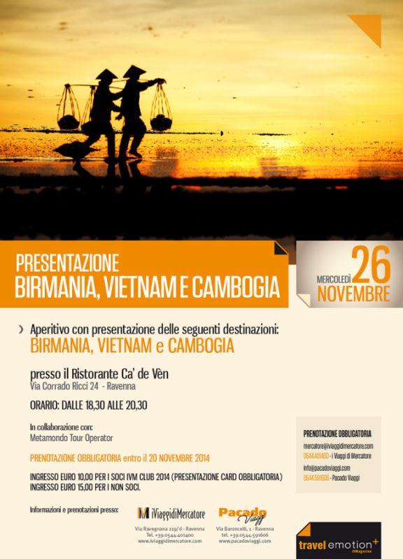 Serata Cambogia 2014