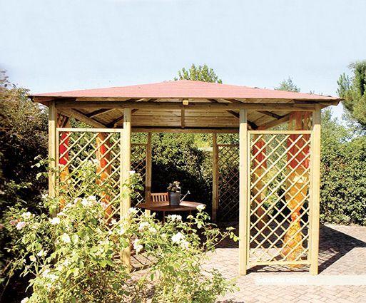 Grigliati in legno e pergolati in legno ed alluminio a Ravenna – Pellegrino Srl