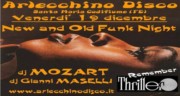 Arlecchino Disco - Dj Mozart e Dj Maselli - venerdi' 19 dicembre 2014