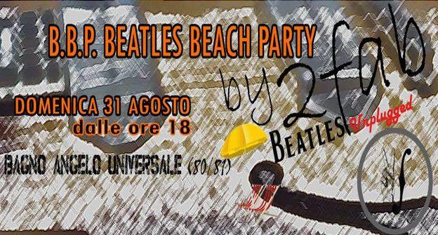 B.B.P. BEATLES BEACH PARTY - bagno Universale - Cesenatico
