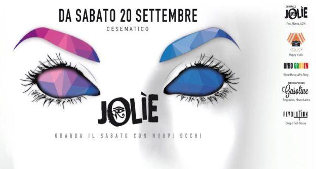 Da Sabato 20 Settembre - CESENATICO - JOLIE - Ex Travolta - NRG Staff