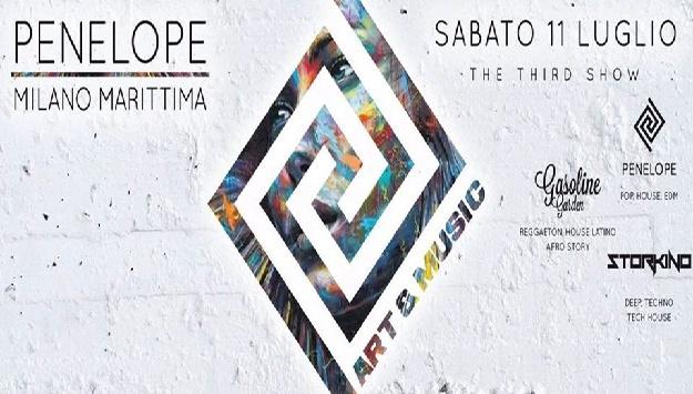 Penelope Art & Music - Sabato 11 Luglio - Milano Marittima