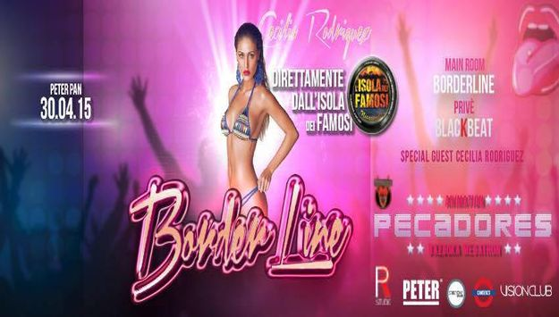 BORDERLINE PETER PAN CLUB SPECIAL GUEST ''CECILIA RODRIGUEZ''