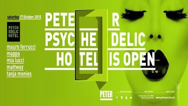 OPENING PARTY PETER - RICCIONE -  Sabato 17 ottobre 2015