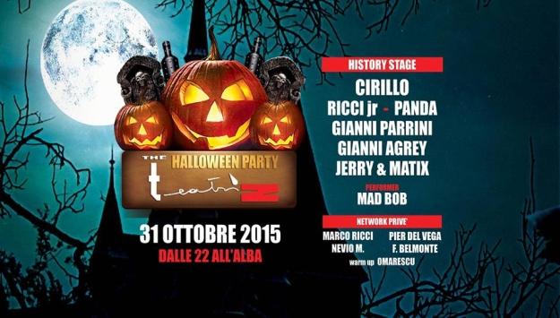 T E A T R I Z - Baccara Lugo - 30 Ottobre 2015 - Halloween Party
