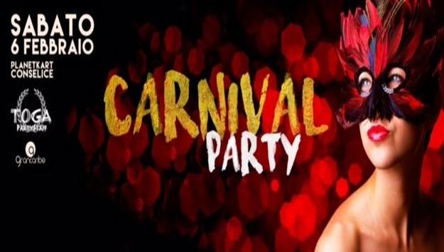 CARNIVAL PARTY + ANIMAZIONE GRAN CARIBE & DJ MAURO CATALINI Sabato 6 febbraio 2016