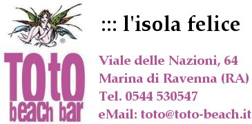 Toto Beach Bar - Marina di Ravenna - l'isola Felice ...