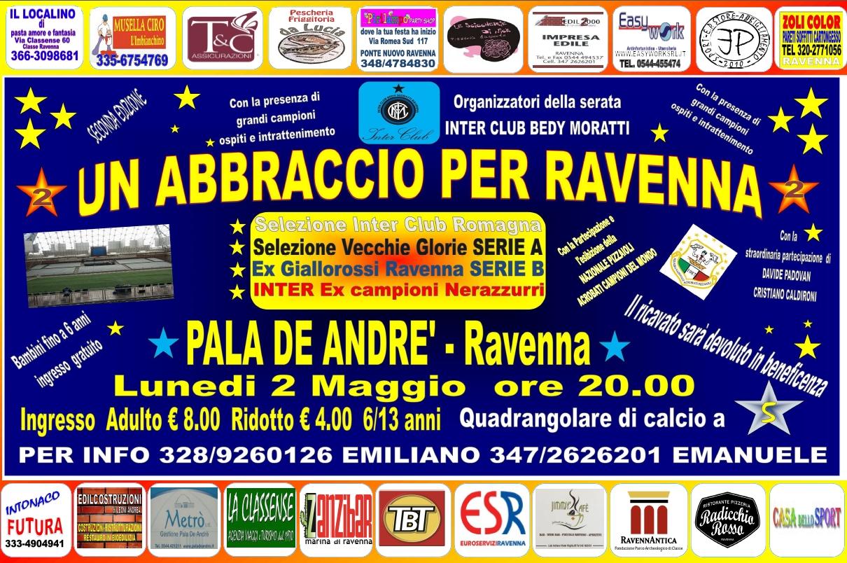 Un abbraccio per Ravenna