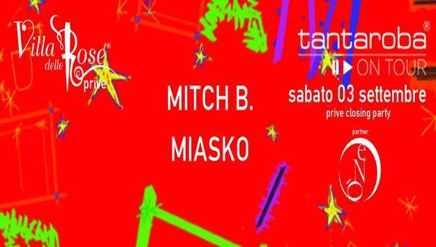 Tantaroba on tour Sabato 3 settembre 2016 - Villa delle Rose