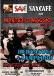 Lugo (RA) - Hernandez & Sampedro al Sax Pub