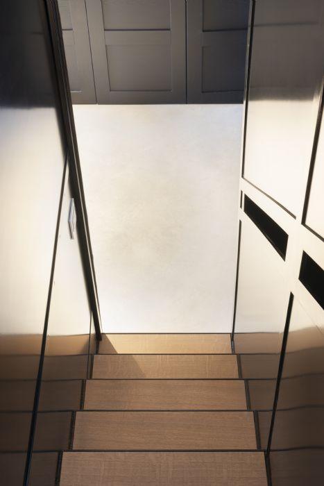 Soluzioni > Scale > in ferro inox e vetro