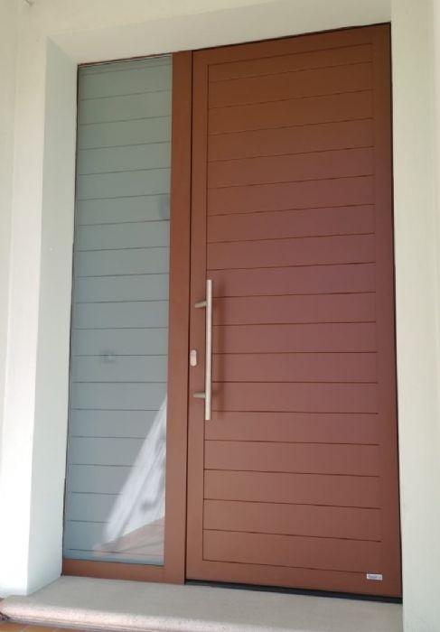 Soluzioni > Porte Blindate > in Alluminio Schüco