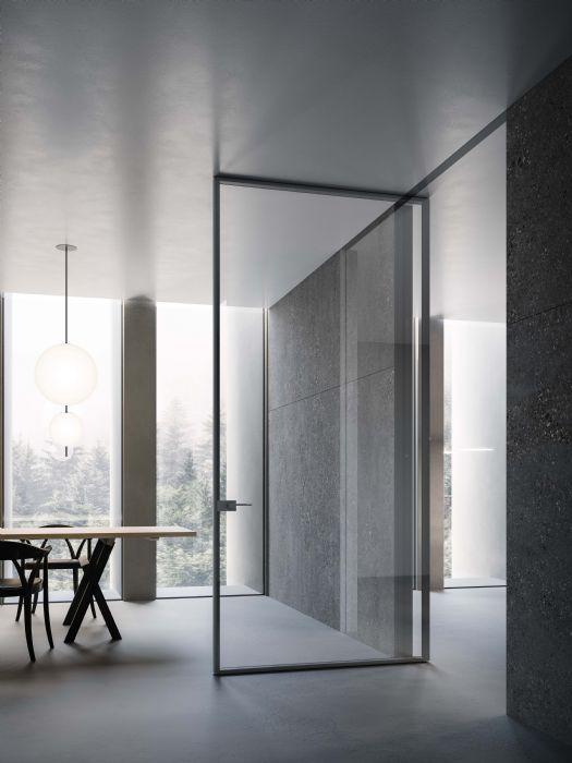Soluzioni > Porte Interne > in vetro