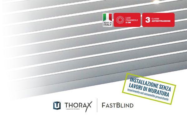 Prodotti > Tapparelle > Blindate classe 4 Fastblind