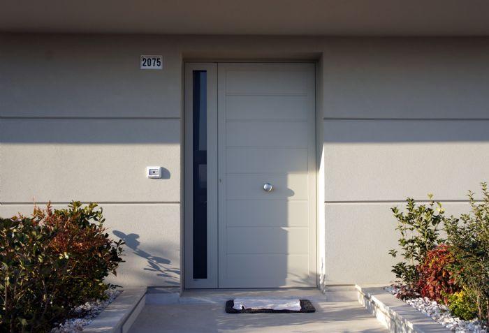 Porte Blindatein Alluminio Schüco