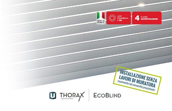 Soluzioni > Tapparelle > Blindate classe 4 Ecoblind