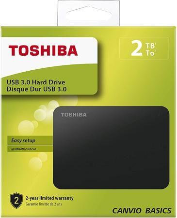 TOSHIBA HARD DISK ESTERNO 2 TERA