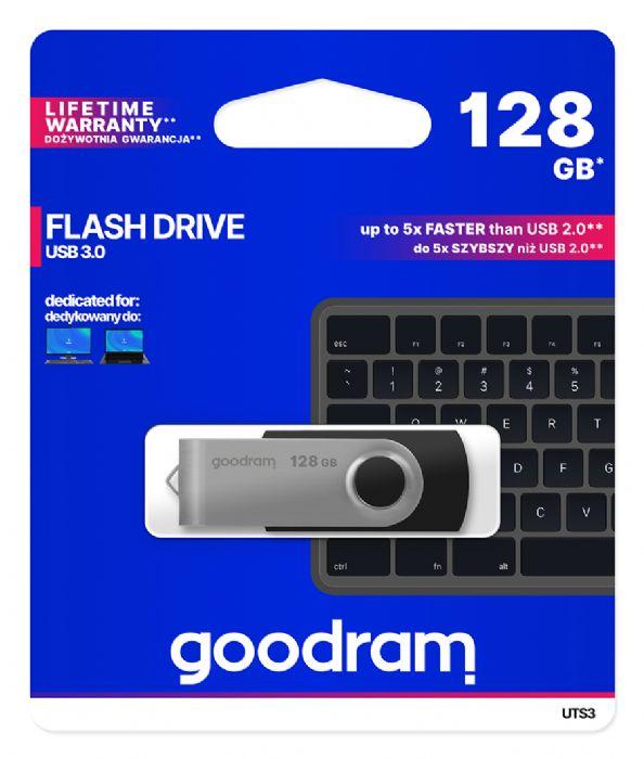 PENDRIVE USB 128GB USB3.0 BLACK