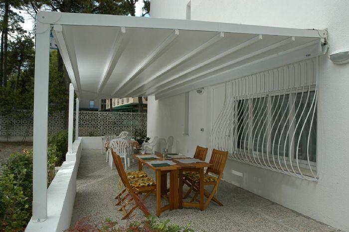 Pergolati Da Giardino In Alluminio : Pergolati in alluminio a ravenna per giardini e per auto