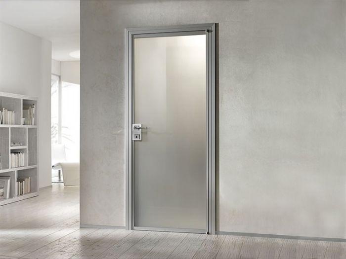 Porte in alluminio a ravenna per interni pellegrino srl forli cesena bologna rimini - Porte interne alluminio e vetro ...